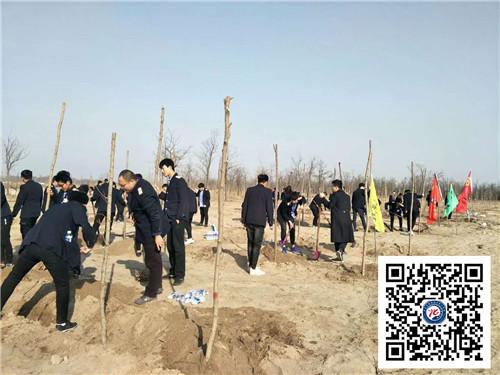 石家庄铁路学校18植树活动纪实