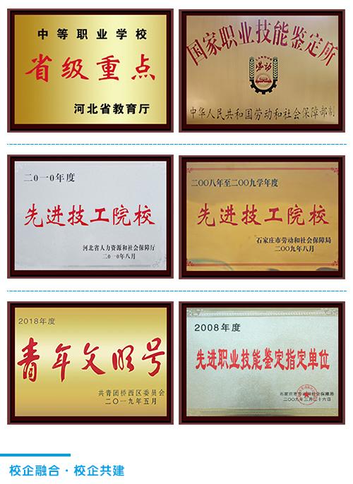 石家庄铁路学校荣誉展示